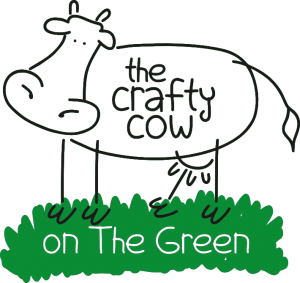 crafty cow on the green logo
